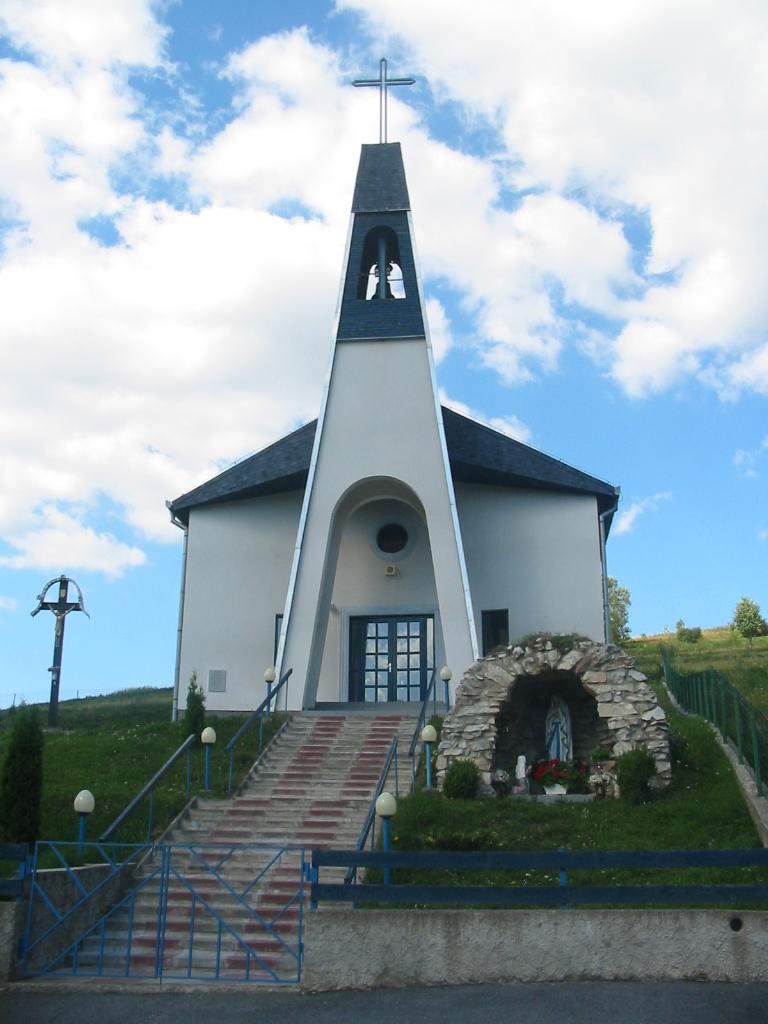 Rímskokatolícky kostol - Milpoš